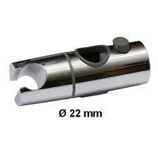 Duschkopf Gleiter Halter für Wandstange Duschstange Ø 22 mm Chrom Schieber 51231