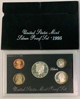 1995 S Silver Proof Set United States Mint OGP & COA