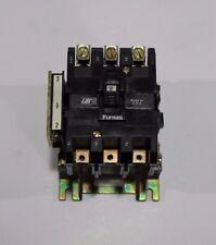 FURNAS 21FF32AF MAGNETIC CONTACTOR, 110/120 COIL, 3 POLES, 60 AMP, 120 V