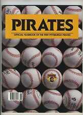 1989 Pittsburgh Pirates Yearbook