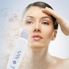 Ultrasonic Skin Cleaner Facial Pores Scrubber Exfoliator Massager Machine HK