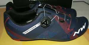 NORTHWAVE STORM CARBON CYCLING SHOES SIZE 12.5 (EU47) BLUE NEW & BOXED