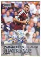 2016-17 Topps Stadium Club Premier League Autograph Johann Berg Gudmundsson