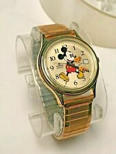 Lorus Mickey Mouse Disney Character Timepieces Watch Vintage New Collectible