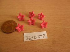 3670 Bt Pink Tulip Flower Petals x 6- Mansion House Castle Church Playmobil Spar
