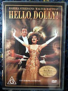 Hello Dolly! DVD Barbra Streisand, Walter Matthau Region 4