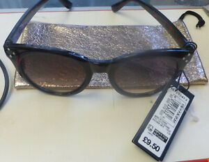 SUNGLASSES MARKS & SPENCERS BROWN MIX PLASTIC FRAME  NEW  RRP £9.50