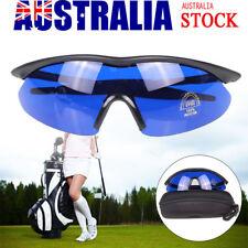 Golfer Golf Ball Finder Glasses Lens Less Sport finding Sunglasses w/ Case Box