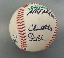 Signed Baseball Autographed Pittsburgh Pirates Players D'Arnaud Morton Meek