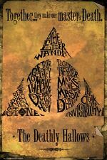 HARRY POTTER - DEATHLY HALLOWS - MASTER OF DEATH POSTER 24x36 - 160558