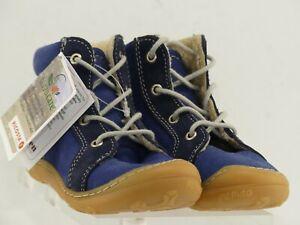 Pepino By Ricosta George Baby Leder Schuhe, Warmfutter, Wechselfußbett, Weite M