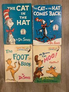 Vintage Dr. Seuss Books 1958-1963