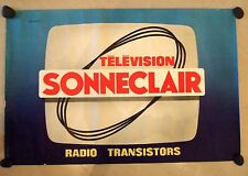 Original French Television Sonneclair poster