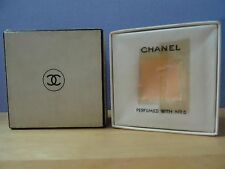 Very Rare Vintage Chanel No.5 Face Powder Original Package Glamour Rose Size 711