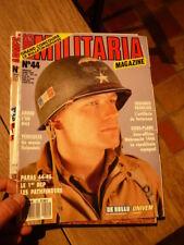 REVUE MILITARIA MAGAZINE N° 44