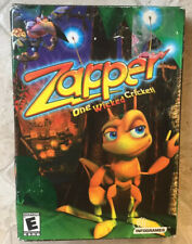 ZAPPER One Wicked Cricket! by Infogrames 2002 PC Game Action Arcade CD-ROM