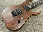 Invictus, Black Machine style Electric Guitar, Thru Neck Custom Built, 26