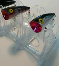 Rebel Pop R Saltwater Popper Lures Lot Of 2 2 3/4 inch. 1/3 oz New(Other)