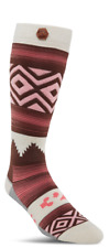 2018 NWT WOMENS THIRTYTWO HIMALAYA SOCKS $24 L/XL (8-10) red heavy-weight