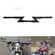 "Motorcycle 7"" Black Z-Bar 1"" Handlebar F For Harley Sportster Dyna Bobber Choppe"