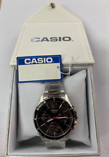 Casio  MTP-1374D-1A Multifunction  50m  Men  Black Dial  MTP1374 +Casio Gift Box