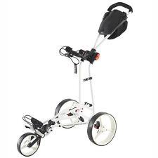 Big Max Autofold FF  - 3-Rad-Golftrolley ultrakompakt Farbe Weiß Neuheit !