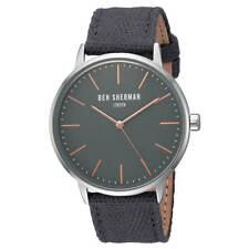 Ben Sherman WB009EA Men's Portobello Social Grey Dial Quartz Watch