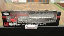 DCP#32803 TREXLER TRUCKING PETE 379 SEMI TRUCK &EAST END DUMP TRAILER 1:64/FC