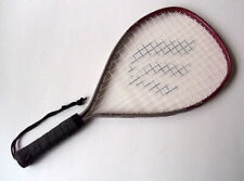 Vintage Ektelon Medallion Super Sn Silver Maroon Racquetball Racquet - New Grip