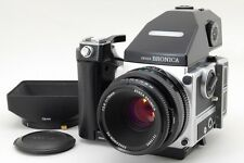 BRONICA ETR Si AE-Ⅲ PE w/ 75mm F/2.8 Special Edition from Japan Near Mint
