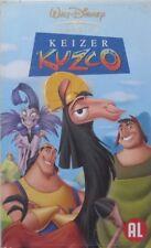 KEIZER KUZCO - WALT DISNEY - VHS