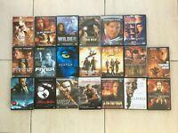 Lot de 20 Films DVD Divers en tout genres