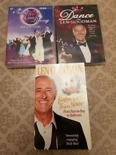 strictly come dancing dvd x 2 plus Len Goodman book