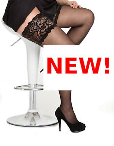 NEW plus size thigh high LACE HOLD UPS stay-up stockings 20 222 24 26 28 XXXL 4X