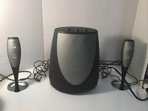 Harman Kardon HK695-01 Computer Speakers, 3 Piece set Quality Sound