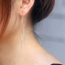 Delicate Silver Plated Ear Line All-match Korean  Line Earrings Ear Long Chain