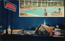 LUMBERTON NC Howard Johnson's Motor Lodge Restaurant Old Vtg HoJo's Postcard