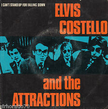 ELVIS COSTELLO I Can't Stand Up For Falling Down / Girl's Talk  45