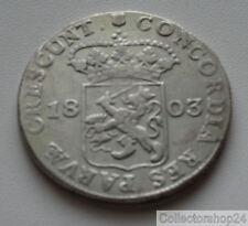 Coin / Munt Netherlands 1803 Zilveren Dukaat Utrecht