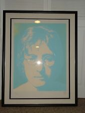 JOHN LENNON LIMITED EDITION SERIGRAPH 124/300 SIGNED BY YOKO