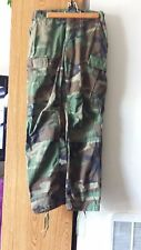 WOMEN'S camouflage JEANS SIZE 27 X 32