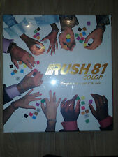 RUSH 81 COLOR Board Game FACTORY SEALED NEW 2007 Springfree Games RARE!