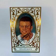 Willie Mays Signed Perez Steele Master Works Postcard With JSA COA