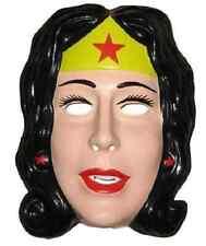 Wonder Woman PVC Mask Superhero Justice League Halloween Costume Accessory