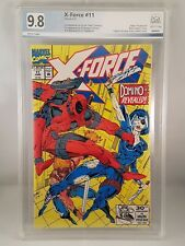 X-Force # 11 PGX 9.8 1st Appearance of Real Domino Like CGC
