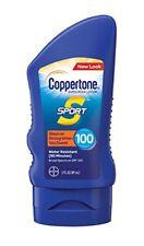 2 Pack Coppertone Sport Sunscreen Lotion Broad Spectrum SPF 100 3oz Each