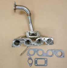 OBX Turbo Header Manifold Downpipe Fit 1998 99 00 2001 Corolla S CE LE 1.8L