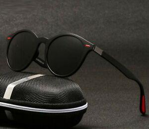Men's Women's Polarized Sunglasses Light Round Retro Classic Fashion Shades 2020