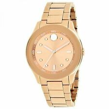 Movado Bold Rose Gold 38mm Ladies Quartz Watch 3600417