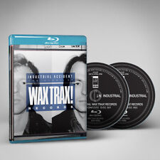 INDUSTRIAL ACCIDENT: The Story of Wax Trax! Records. Blu-Ray Front 242, Ministry